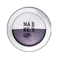 Make up Factory Тени для век Make Up Factory -  Duo Eye Shadow №80 Mystic Liac/Pearly Orchid